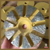 Het Oppoetsende Stootkussen van de Diamant van de Band van het metaal met Speld voor Prep/HoofdMolen