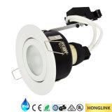 Cuarto de baño Downlight, luz ajustable del Ce IP44 del cuarto de baño del LED