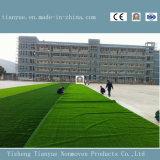 Футбол зеленого цвета надувательства фабрики резвится искусственная дерновина