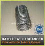 AISI304/316ステンレス鋼のコイル状の管の熱交換器