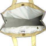 Zwei Größen imprägniern Belüftung-Inner-Muster-Handtasche (H003)