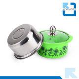 ステンレス鋼のHotpotの多彩なカセロールの一定の中国の小型熱い鍋