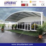 Tiendas al aire libre de la exposición con la pared de cristal (SDG007)