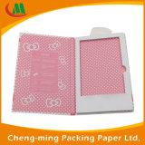 Impresión de CMYK vidrio templado papel protector de la caja de empaquetado de encargo