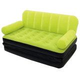 余暇のComforatable Foldable膨脹可能なPVCまたはTPUの二重のための最もよい選択ソファーベッド