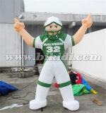 熱い販売の米国K2098への膨脹可能なフットボール選手の気球