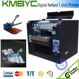 Vendas Flatbed da máquina de impressão da camisa da tela de matéria têxtil T de A3 Digitas