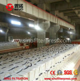 Máquina automática de la prensa de filtro de membrana para el producto químico