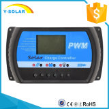 10A 12V/24V LCD Bildschirmanzeige-Solarladung-Controller für Sonnenkollektor-Batterie mit USB 5V/3A Rtd-10A