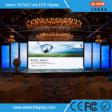 Alquiler de interior a todo color LED Display&#160 de P4 HD; para la etapa