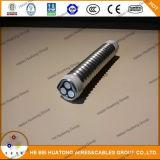Tipo de aluminio cable de la armadura de la cinta UL1569 de Mc