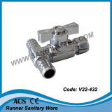 Прямой клапан Pex (Comp PEX*OD.) V22-431