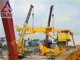 De mariene Flens van de Kraan van het Dek van het Schip Elektrische Hydraulische zette de ZeeKraan van het Dek van de Kraan op