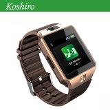 Téléphone mobile de montre avec le moniteur du rythme cardiaque de pression sanguine