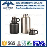 Caneca de café de aço inoxidável de vácuo isolada de parede dupla