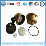 Medidor de água Volumetric do corpo de bronze com R=160 classe C