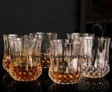 رصيص - إرتفاع حرّة شفّافة - نهاية قضيب فنجان وسكي فنجان ماس فنجان [رد وين غلسّ] زجاجيّة