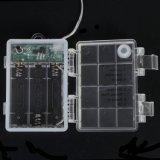 8 funzioni impermeabilizzano il collegare di rame del pacchetto della batteria lampada leggiadramente della stringa dei 10 tester