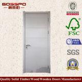 Weiße Farben-Melamin-MDF geformte Tür (GSP12-021)