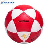 Preciosa desinflado del balón de fútbol híbrido PVC muchachas de las mujeres