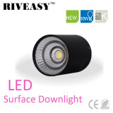 iluminación negra montada superficie SMD de Downlight LED de la MAZORCA de 10W LED