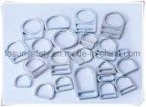 Anillos en D del metal de los accesorios del harness de seguridad (H214D)