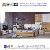 Muebles del dormitorio del MDF de la base gigante del diseño de la India (SH-013#)