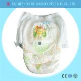 Le type neuf qualité halète l'exportation de couches-culottes de bébé de Chine