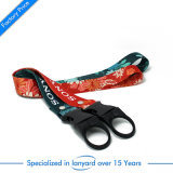 Hot Sale Heat Transfer Printed Bottle Holder Lanyard Strap