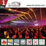 20X30m 나이트 클럽에 사용되는 점화를 가진 500명의 사람들 투명한 천막
