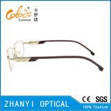Blocco per grafici di titanio di vetro ottici di Eyewear del monocolo del Pieno-Blocco per grafici di alta qualità (9407)