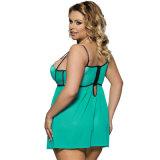 Precio al por mayor de las mujeres gordas más la ropa interior de la talla