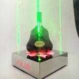 고품질 LED 빛을%s 가진 주문 아크릴 맥주 포도주 주류 병 전시
