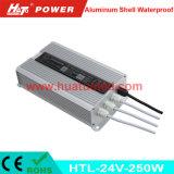 alimentazione elettrica impermeabile delle coperture di alluminio costanti LED di tensione 24V-250W