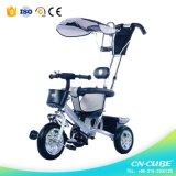1つの多機能の赤ん坊の三輪車のベビーカーの卸売に付き母の選択4つ