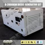 64kVA 50Hz 3 Fase de insonorización tipo eléctrico diesel grupo electrógeno Sdg64fs