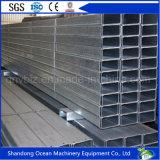 Purlin de aço da seção pré-fabricada C para o sistema de telhadura de construção de aço clara