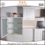 現代ホーム家具の木製のキャビネットMDFの台所食器棚