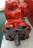 Pompa hydráulica del excavador de la máquina de la construcción de DEAWOO (K3V63-HN)