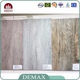 Étage en bois de vinyle de PVC de texture d'épaisseur antidérapage commerciale de 3mm