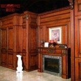 Panneau de revêtement en bois d'intérieur imperméable à l'eau de mur de villa (GSP11-002)