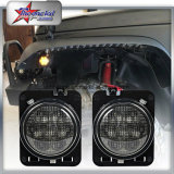 "China Factory Price High Power 30W 4 ""Auto Car LED DRL Fog Lamp para Jeep Wrangler Jk Tj Lj"