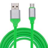 충전기 데이터 Sync USB 케이블을 비용을 부과하는 2.4A TPE 이동할 수 있는 부속품