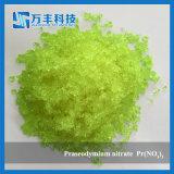 Triclinic seltene Massepraseodymium-Kristallnitrat der neuen Ankunfts-2017