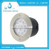 온난한 백색 36W IP68에 의하여 중단되는 LED 수중 가벼운 램프