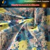 tessuto di stampa di stirata di modo 75D 4, tessuto dello Spandex 100%Polyester