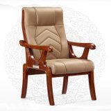 단단한 오크 나무로 되는 회의 중역 회의실 가죽 사무실 의자 (NS-CF016)