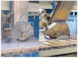 45の刃の傾くことを用いるレーザーの大理石の花こう岩の石橋Saw&Cutting自動機械