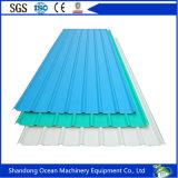 Vario PPGI tetto ondulato a forma di della lamiera di acciaio di prezzi poco costosi sulla costruzione chiara della struttura d'acciaio