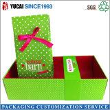Коробка подарка коробки гофрированной бумага упаковывая